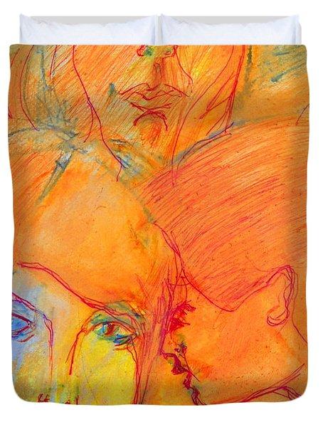 Secrets Duvet Cover by Judith Redman