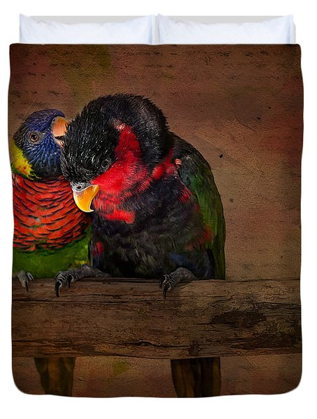 Secrets Duvet Cover by Susan Candelario