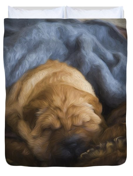 Security Blanket Duvet Cover