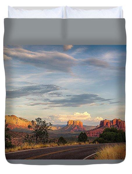 Sedona Arizona Allure Of The Red Rocks - American Desert Southwest Duvet Cover