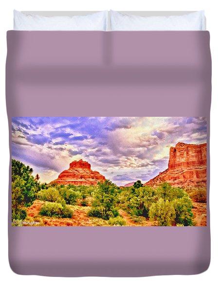Sedona Arizona Bell Rock Vortex Duvet Cover