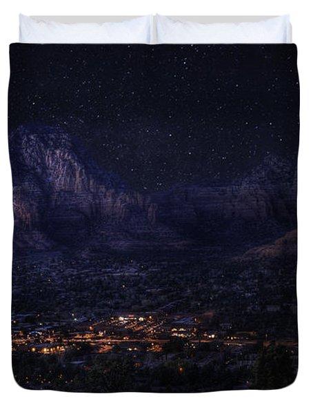 Sedona By Night Duvet Cover