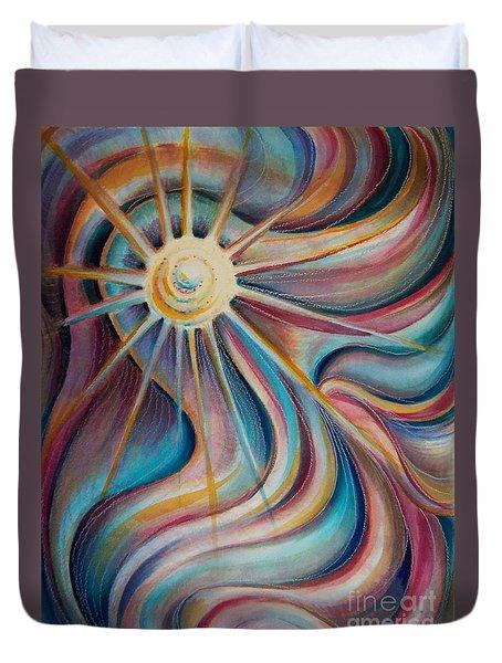 Sedona Charm Duvet Cover by Dee Davis
