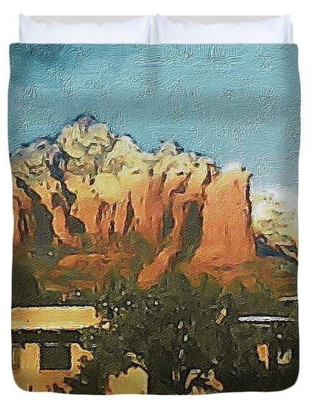 Sedona Duvet Cover by Susan Maxwell Schmidt