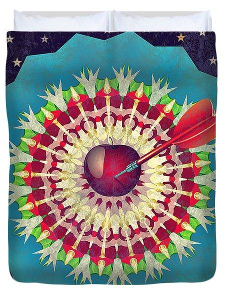 Duvet Cover featuring the digital art Seduction  by Eleni Mac Synodinos