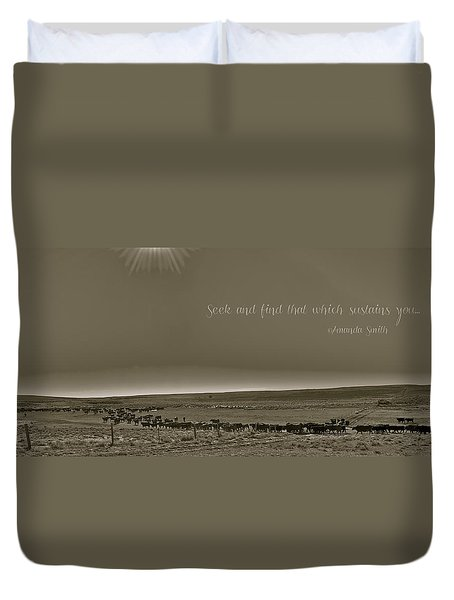 Seek And Find Duvet Cover