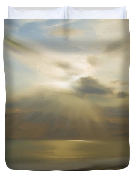 Seek And You Shall Find Duvet Cover by Liane Wright