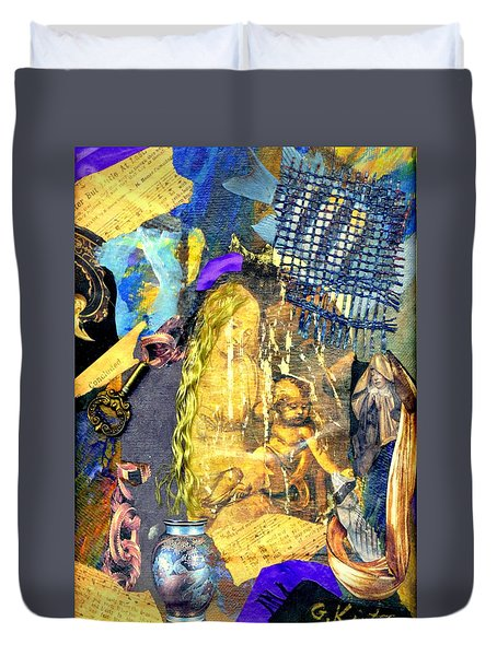 Seeking Duvet Cover by Gail Kirtz