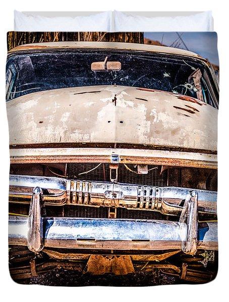 Seen Better Days Duvet Cover by  Onyonet  Photo Studios