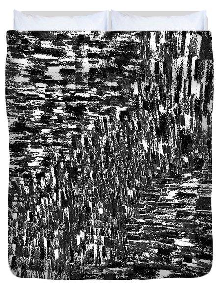 Seismic Shift Duvet Cover by Andy  Mercer