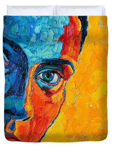 Self Portrait Duvet Cover by Ana Maria Edulescu