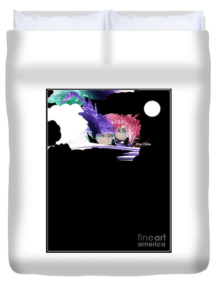 Selfless Souls Duvet Cover
