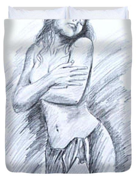 Semi Nude Duvet Cover