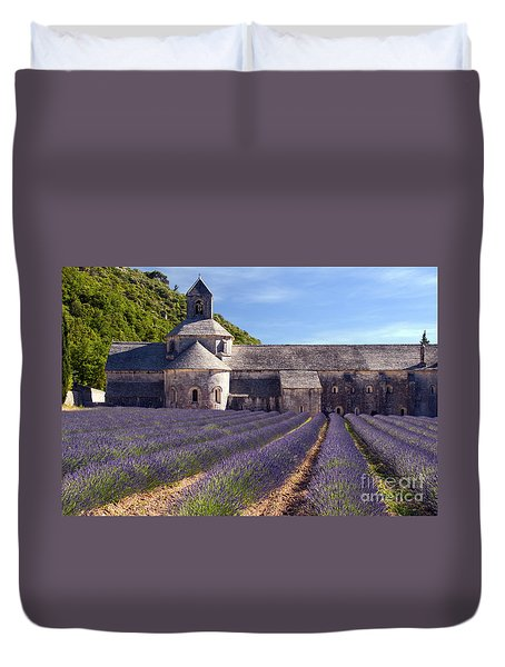 Senanque Abbey Duvet Cover by Bob Phillips