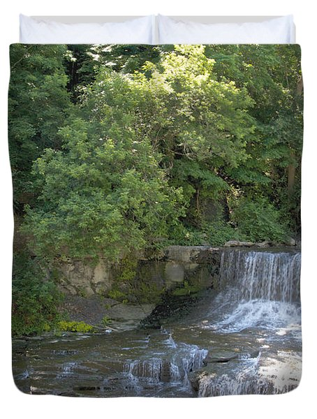 Seneca Keuka Trail Duvet Cover by William Norton