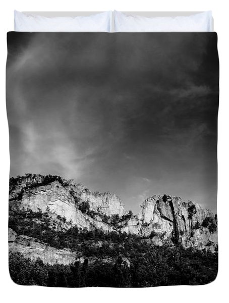Seneca Rocks Duvet Cover