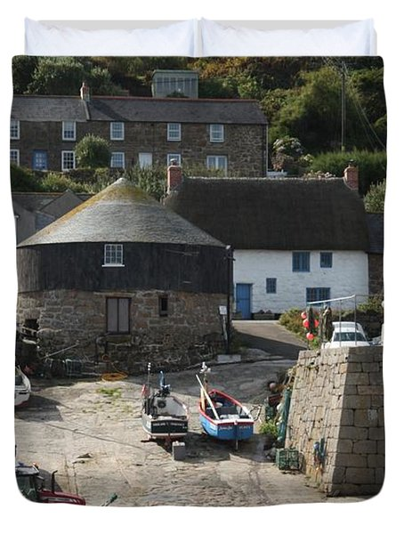 Sennen Cove Duvet Cover by Linsey Williams