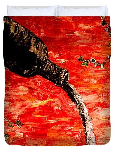 Sensual Fruit Duvet Cover by Mark Moore