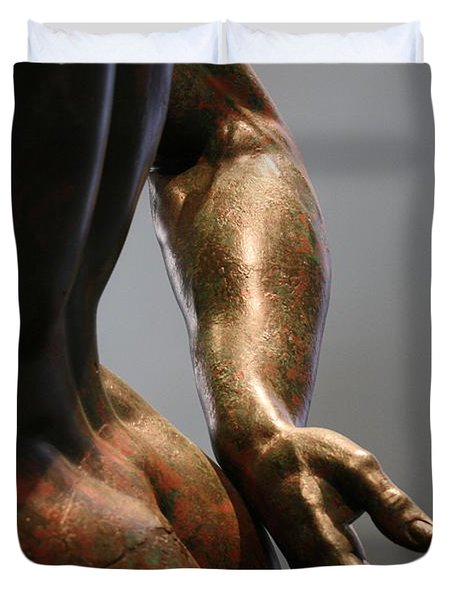 Sensual Sculpture Duvet Cover by Mary-Lee Sanders