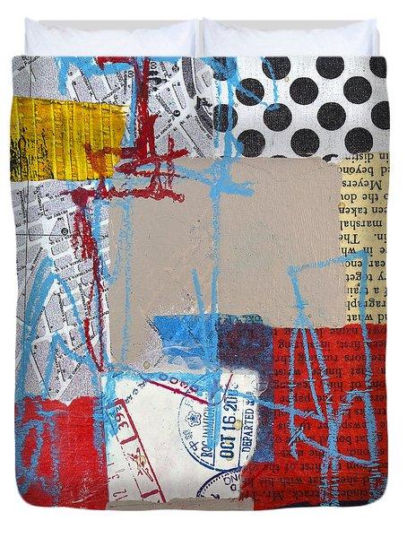 Sentimental Journey Duvet Cover by Elena Nosyreva