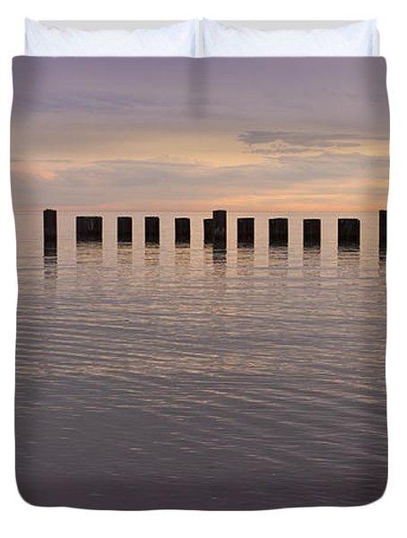 Sentinels Duvet Cover by Adam Romanowicz