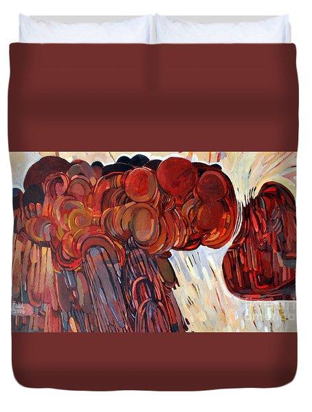 Separation Duvet Cover by Mohamed Fadul