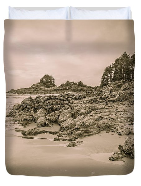 Cox Bay Sepia Duvet Cover