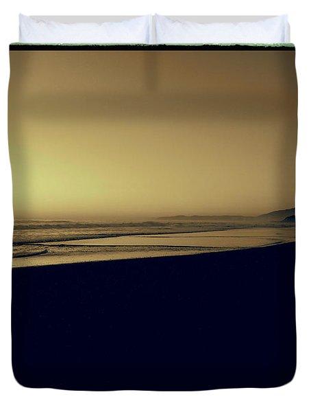 Sepia Study 1 Duvet Cover