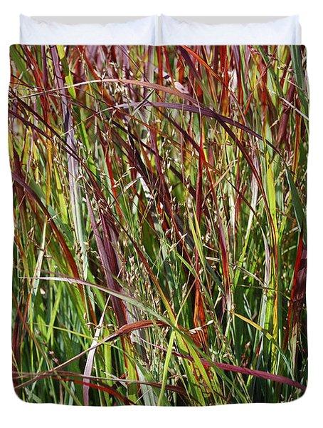 September Grasses By Jrr Duvet Cover by First Star Art