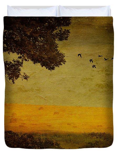 September Duvet Cover by Lois Bryan