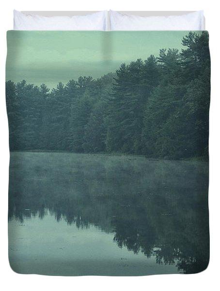 September Reflection Duvet Cover by Karol Livote