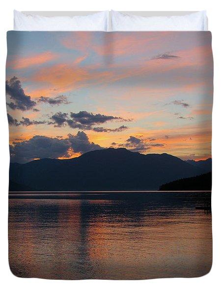September Sunset Duvet Cover