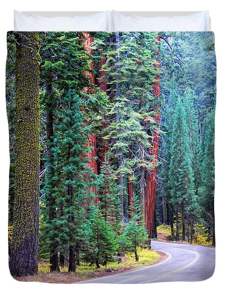 Sequoia Hwy Duvet Cover