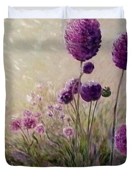 Seraph's Garden Duvet Cover