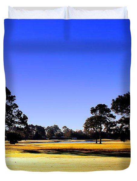 Duvet Cover featuring the photograph Serendipity by Faith Williams