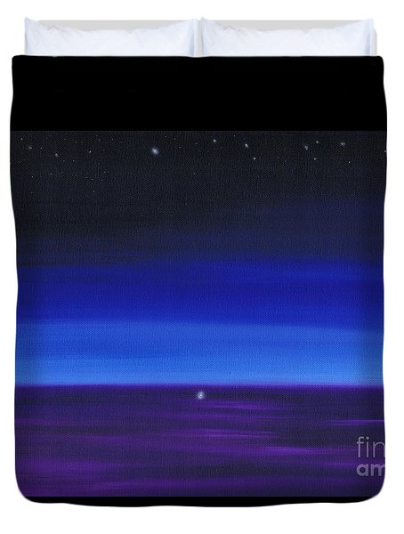 Serenity 3 Duvet Cover by Kenneth Clarke