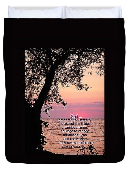 Serenity Duvet Cover