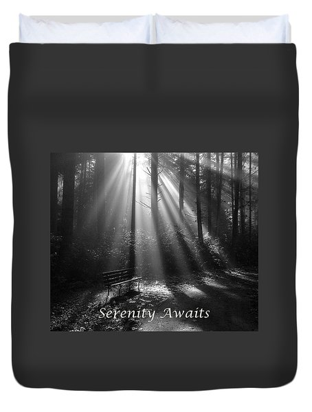 Serenity Awaits Duvet Cover