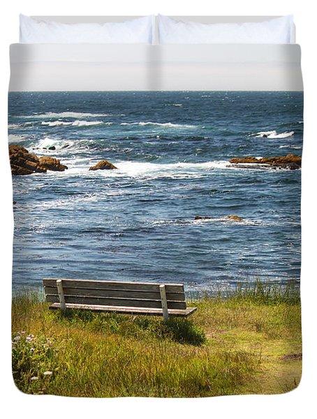 Serenity Bench Duvet Cover