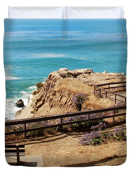 A Place To Relax Duvet Cover