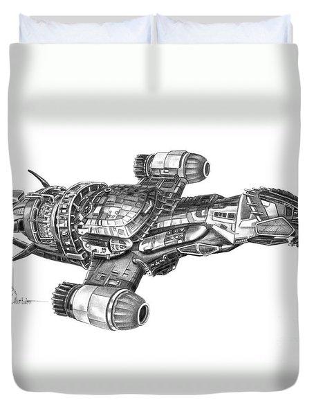 Serenity Firefly Class Duvet Cover
