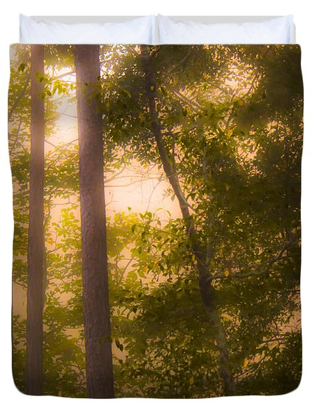 Serenity In The Forest Duvet Cover
