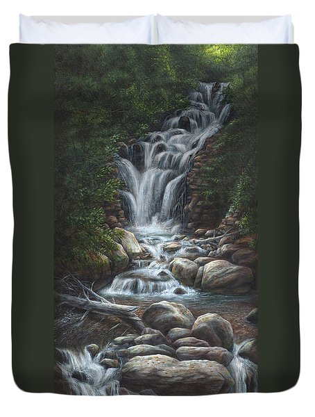 Serenity Duvet Cover by Kim Lockman