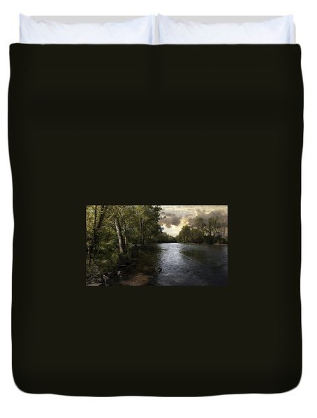 Duvet Cover featuring the photograph Serenity by Lynn Geoffroy