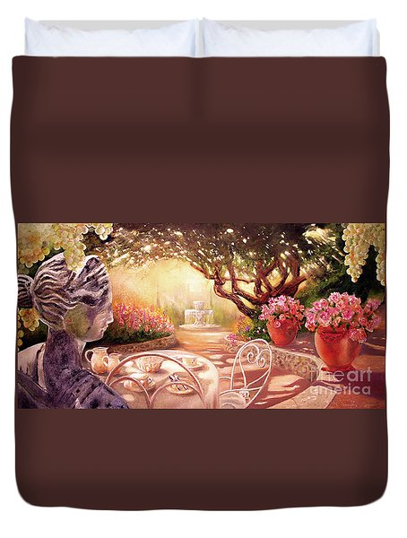 Serenity Duvet Cover by Michael Rock