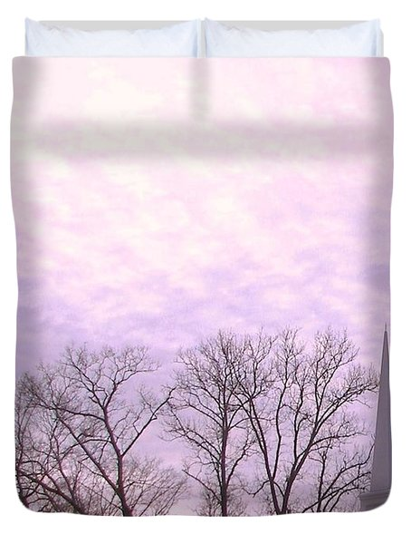 Duvet Cover featuring the photograph Serenity by Pamela Hyde Wilson