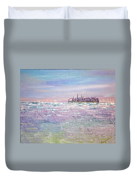 Serenity Sky - Sold Duvet Cover