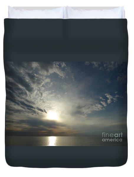 Serenity Sunset Duvet Cover