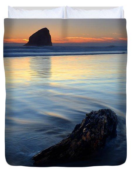 Set In Sand Duvet Cover