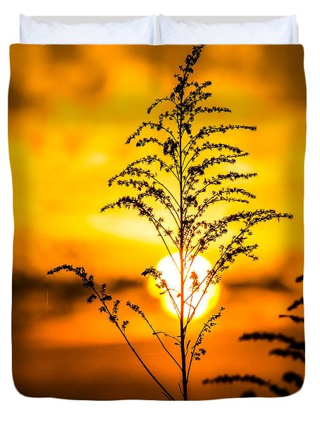 Setting Sun Duvet Cover